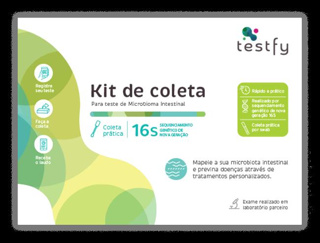 CAIXA TESTE Microbioma intestinal